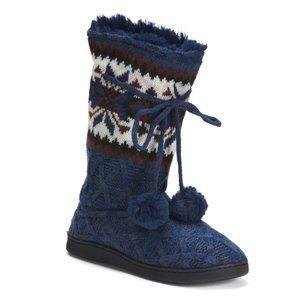NWT MUK LUKS Gracie Tall Slipper Boots
